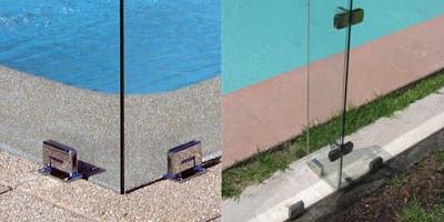 Vidrio templado para piscinas