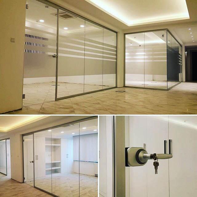 vidrioplus separacion de espacios oficinas