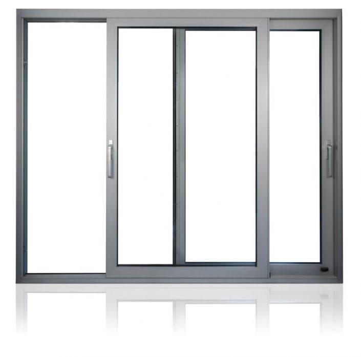 Puertas de aluminio y Cristal Templado