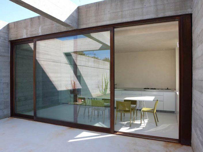Puertas de aluminio y Cristal Templado vidrioplus