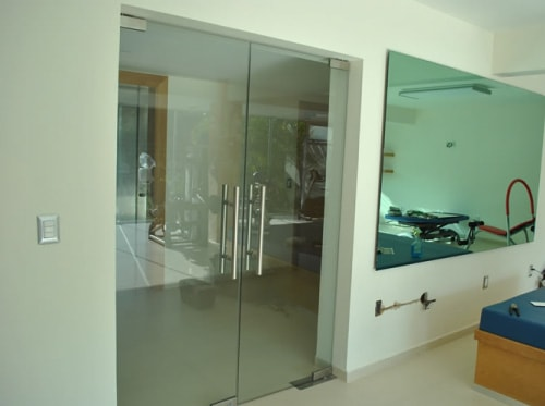 vidrio templado vidrioplus puerta negocio