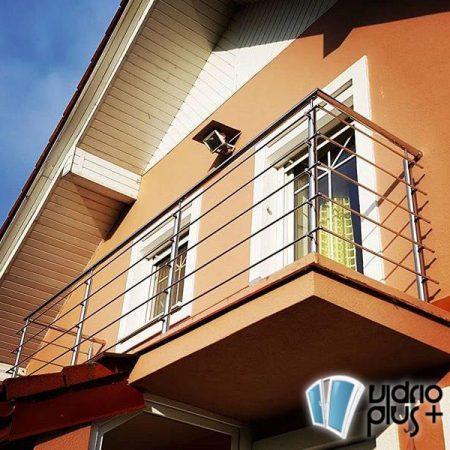 vidrio templado en guadalajara barandal balcon