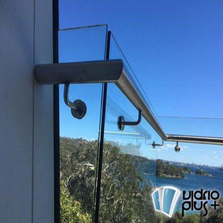 vidrio templado en guadalajara barandal vidrio y acero